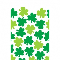 Shamrock Shimmer Plastic Table Covers | party supplies