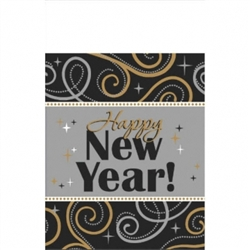Sparkling New Year Table Cover | New Year's Eve Products