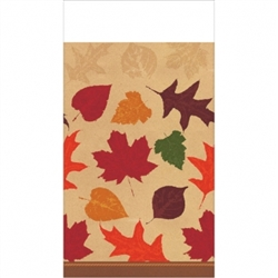 Autumn Traditions Table Cover | Party Supplies