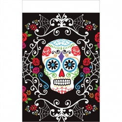 Day of The Dead Plastic Table Cover | Halloween Party Supplies