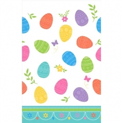 Lovely Easter Plastic Table Covers | Party Supplies