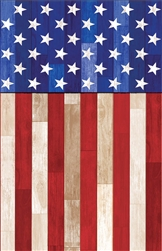 Old Glory Plastic Table Cover | Party Supplies