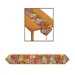 Printed Luau Table Runner