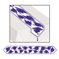 Purple Graduation Table Decoration for Sale