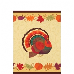 Thanksgiving Holiday Plastic Table Covers | Party Supplies