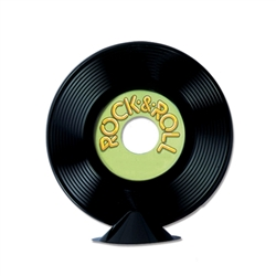 Personalize Plastic Record Centerpiece