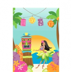 In The Shade Plastic Table Cover | Luau Party Supplies