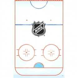 NHL Plastic Table Cover | Party Supplies