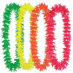 Silk 'N Petals Neon Lotus Leis | Party Supplies