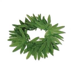 Tropical Fern Leaf Headband | Party Supplies