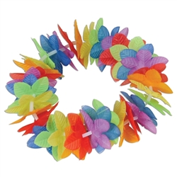 Silk 'N Petals Rainbow Floral Headband | Party Supplies