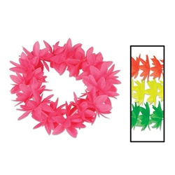 Silk 'N Petals Neon Lotus Headbands | Party Supplies