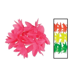 Silk 'N Petals Neon Lotus Wristlets/Anklets | Party Supplies