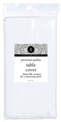 White Premium Table Cover | Party Supplies
