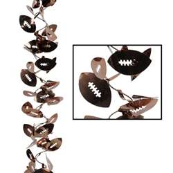 Gleam 'N Flex Football Garland