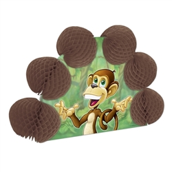Monkey Pop-Over Centerpiece