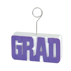 Purple Graduation Decorations for Sale