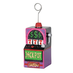 Slot Machine Photo/Balloon Holder