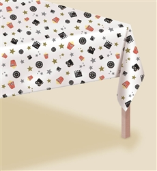 Director's Cut Popcorn Table Cover | Party Supplies