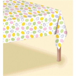 Eggstravaganza Table Cover | Party Supplies