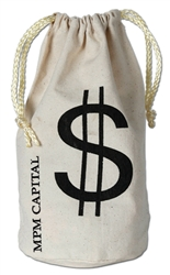 Custom Imprinted Money Bag