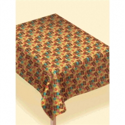 Tiki Round Table Cover | Party Supplies