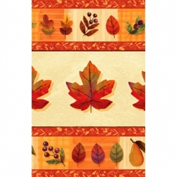 "Watercolor Leaves 54"" x 102"" Table Covers 
