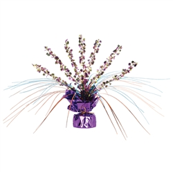 Retro Flower Gleam 'N Spray Centerpiece