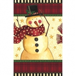 Cozy Snowman Plastic Table Covers | Party Supplies