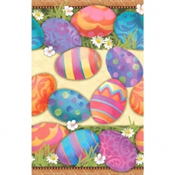 Easter Elegance Table Cover | Party Supplies