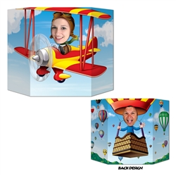 Biplane/Hot Air Balloon Photo Prop
