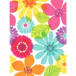 Day in Paradise Plastic Table Cover | Luau Party Supplies