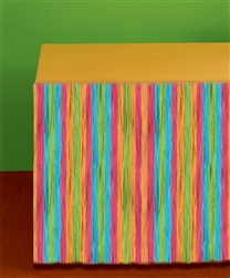 Multi Colored Grass Table Skirts | Luau Party Supplies