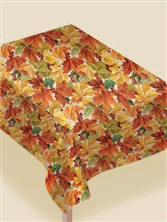 Elegant Leaves All-Over Print Paper Table Covers | Party Supplies