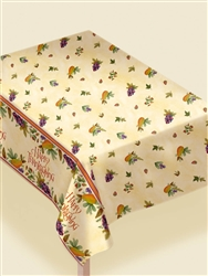 "Thanksgiving Medley 54"" x 102"" Paper Table Covers 