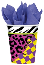 Totally 80's 9 oz. Paper Cup | Party Supplies