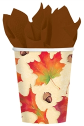 Autumn Days 9 oz. Cups | Party Supplies