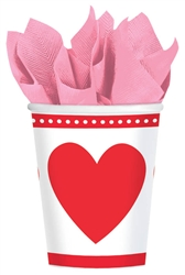 Sweet Love 9 oz. Cups | Sweet Love Valentine's Day Cups
