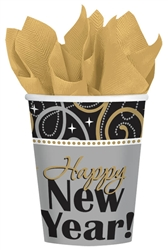 Sparkling New Year Cups | New Years Eve Party Supplies