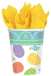 Lovely Easter 9 oz. Paper Cups | Party Supplies