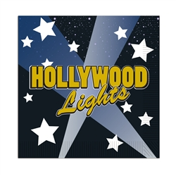 Hollywood Lights Beverage Napkins