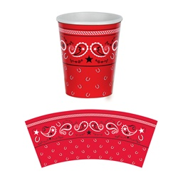 Bandana Beverage Cups