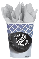 NHL 9 oz. Paper Cups | Party Supplies