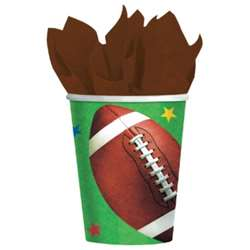 Football Fans Championship 9 oz. Cups | Party Supplies