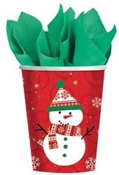 Very Merry 9oz Paper Cups | Party Supplies