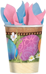 Easter Elegance 9 oz. Cups | Party Supplies