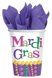 Mardi Gras Celebration Cups, 9 oz. | Mardi Gras Tableware