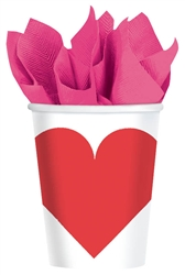 Key To Your Heart 9 oz. Cups | Valentine's Day Cups