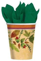 Thanksgiving Medley 9 oz Paper Cups | Party Supplies