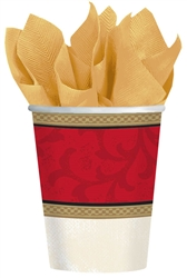 Classic Christmas Tree 9oz Paper Cups | Party Supplies